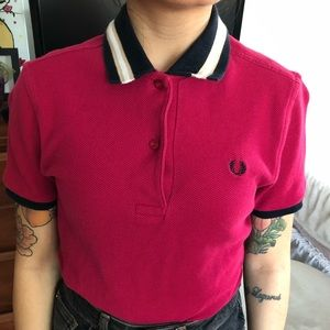 SOLD ❌ Fred perry women knit polo